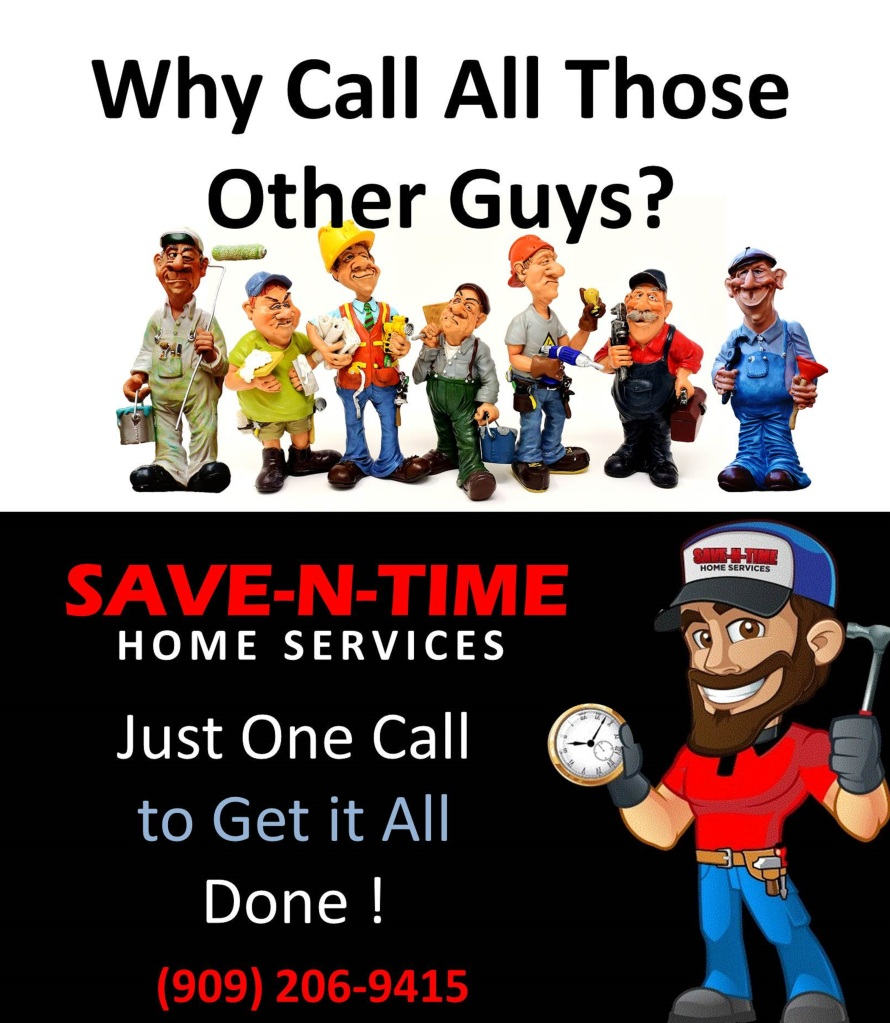 Call Save-N-Time for home services